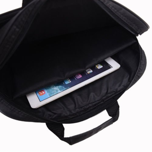 Alicenter(TM) Portable Business Handbag Shoulder Laptop Notebook Bag Case Multifunction J