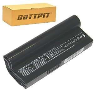Battpit Bateria de repuesto para portátiles Asus Eee PC 1000HD (6600mah / 49wh)