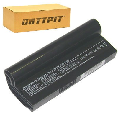BattpitTM Laptop/Notebook Battery for Asus Eee PC 1000H 80G XP Fine Ebony Eee PC 1000H Eee PC 1000HD Eee PC 1000HA Eee PC 1000H 20G Eee PC 1000H 80G (6600mAh / 49Wh)