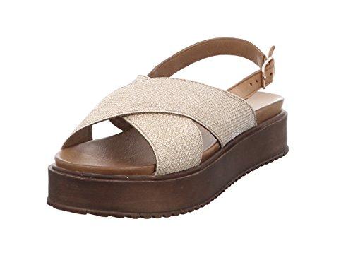 Zapatos dorados formales Inuovo para mujer OtP5g