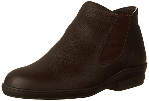 David Tate Womens London Marrone Pebble Grain