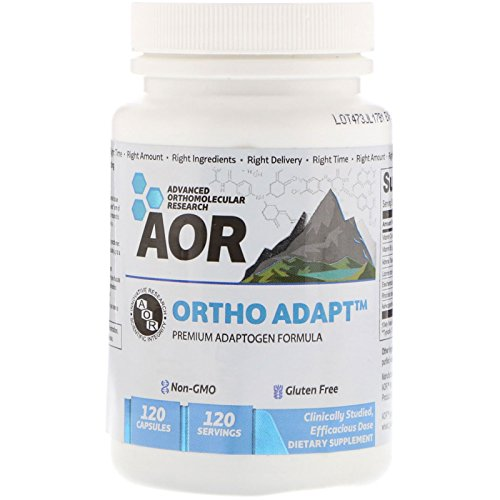Advanced Orthomolecular Research AOR Ortho Adapt Capsules, 120 Count