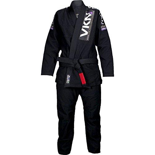Vulkan Womens VKN Pro Jiu Jitsu Gi Black A1