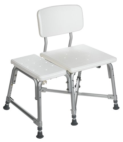 amazoncom medline bariatric plastic transfer bench health u0026 personal care