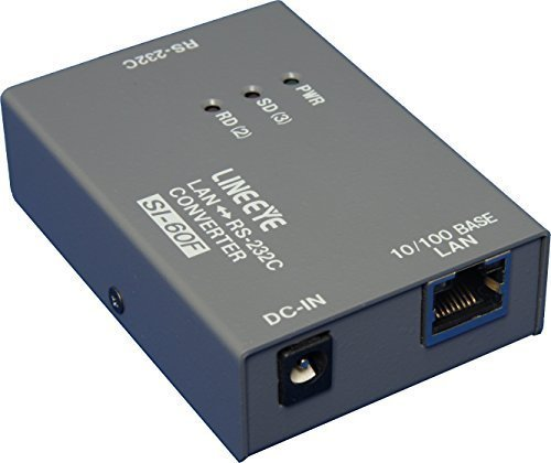 (SI-60F-E - Ethernet to RS-232C interface converter)