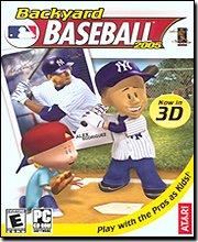 backyard baseball jewel case pc mac video