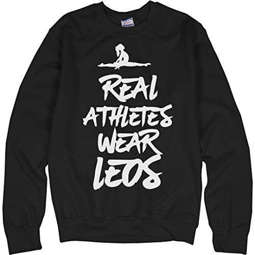 - Real Athletes Wear Leos: Unisex Ultimate Crewneck Sweatshirt