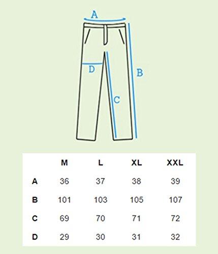 betters tylz ellwoodbz Pantalones Harén Tirantes extraíbles Sweatpants Jogger Fitness, Entrenamiento pantalones de deporte crotch Pantalones 3colores (M–XXL) Gris Chiné