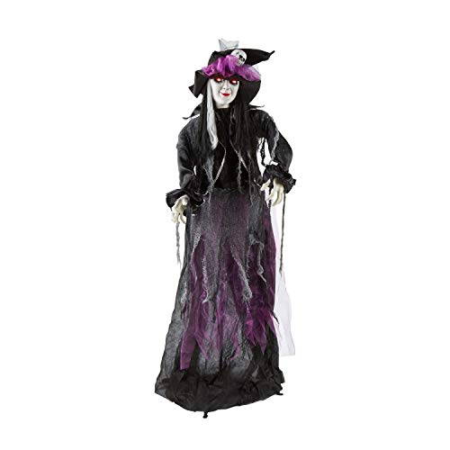 ghi Haunting Esmeralda The Beautiful Witch Standing Halloween Prop Decoration ()