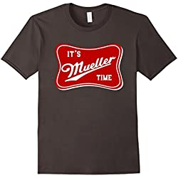 Mens It's Robert Mueller Time Anti Trump Resist T-Shirt Large Asphalt
