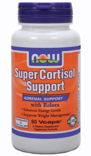 Soutien cortisol Super avec Relora, 90 gélules végétales, De NOW Foods