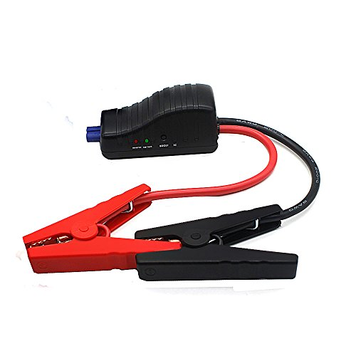 Built In Vehicle Jumper Cables : Gooloo car jump starter cable intelligent booster
