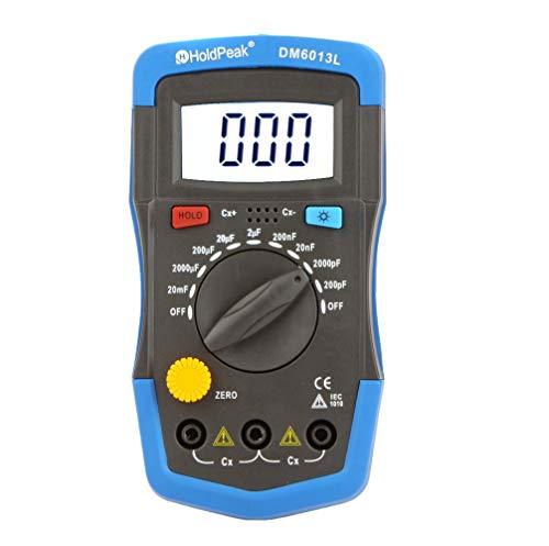 (Maslin DM6013L Handheld Digital Capacitance Meter Capacitor w/LCD Backlight - (Ships From: United)