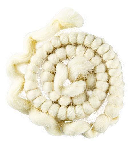 Mehron Makeup Crepe Hair 12-inch Braid -