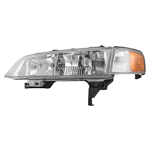 Drivers Headlight Headlamp Replacement for Honda (A02 Headlamp)