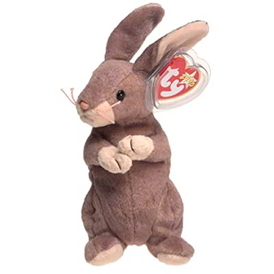 Ty Beanie Babies Springy the Bunny Rabbit: Toys & Games