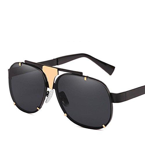 la creativos Europa Estados D y de Sol de UV400 Metal Regalos Personalidad protección Gafas Gafas de Sol Unidos Hombres de Marco Sol Las Axiba los Marea Gafas Bd4wfqB