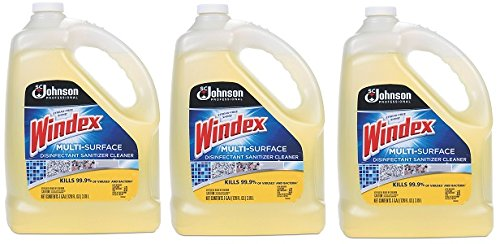 Windex 657067 T multi-surface Disinfectantクリーナー、シトラス、1ガロンボトル4ケース 3-(Case of 4) B07D7J7LWG  3-(Case of 4)