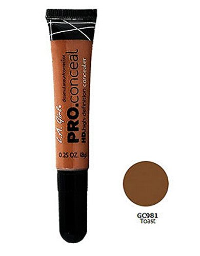 L.A. Girl Pro Conceal HD. High Definition Concealer & Corrector - 981 Toast