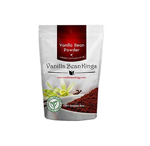 Natural Vanilla Bean Powder, 8 oz - Raw Ground Vanilla Beans, Unsweeted, Non GMO, Gluten-Free - Freshly Ground Before Packaging by Vanilla Bean Kings (Image #4)