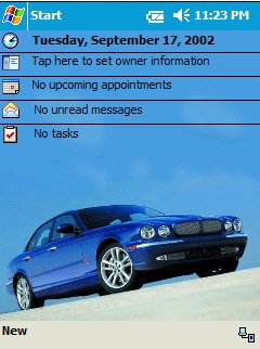 2004 Jaguar XJ Series Today Theme