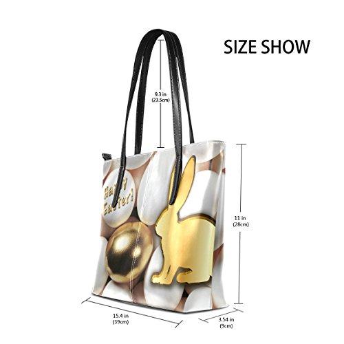 Satchel Handbags Tote Easter Bags Happy Large Purse Shoulder Women's Handle Bennigiry Top 0HXqXv