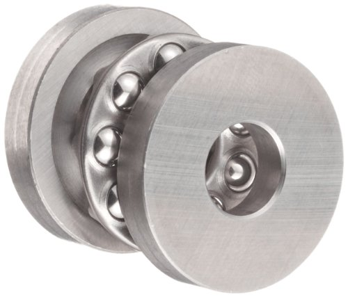 W3/8 Grooved Race Thrust Bearing 3/8 x 1 x 17/32 Inch