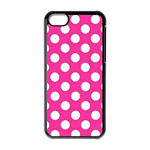 Protection Cover Hard Case Of Polka dot Cell phone Case For Iphone 5C
