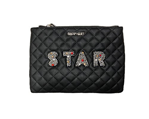 pochette nera STAR shop art nera
