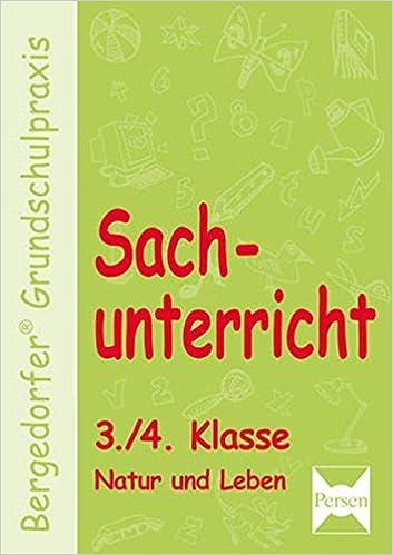 Sachunterricht - 3./4. Klasse, Natur und Leben Bergedorfer ...
