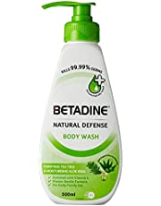 Betadine Body Wash, Tee Tree & Aloe Vera, 500ml