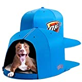NAP CAP NBA Oklahoma City Thunder Team Indoor Pet Bed, Blue (Large)