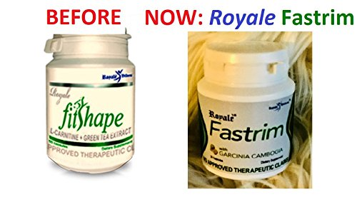 Royale FASTRIM (Previously FitShape with L-Carnitine plus Green Tea Extract 50 capsules)