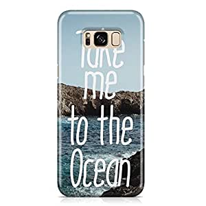 Samsung Galaxy S8 PlusCase take me to the ocean Unique design Favourite Tv shows Samsung Samsung Galaxy S8 PlusCover Wrap Around