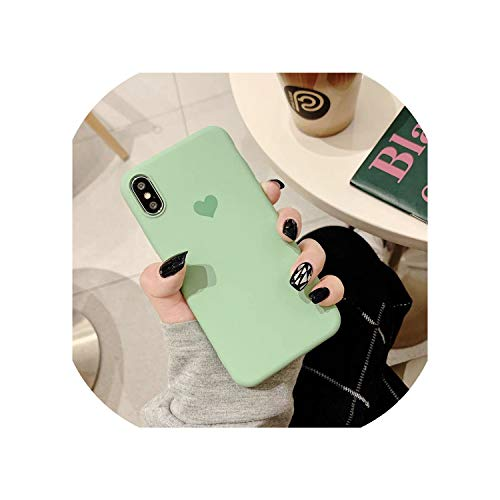 Cellphone caseFor iPhone 7 8 X Case for iPhone 6 S 6s XS Max XR Case for iPhone X 7 8 Plus 7Plus Cover Soft Cute Heart Love Pink Girls Case,for iPhone Xs Max,021