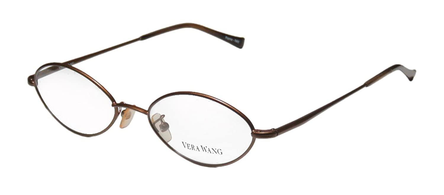 Vera Wang V15 Womens/Ladies Rxable Upscale Designer Designer Full-rim Flexible Hinges Eyeglasses/Eye Glasses