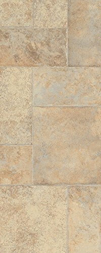 Armstrong L6575 Stones & Ceramics Weathered Way Laminate Flooring, Antique Cream