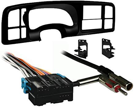 Metra Double DIN Car Stereo Radio Install Dash Kit for 1999-02 - Sierra Mounting