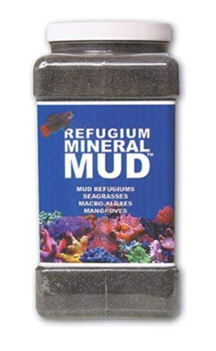 Carib Sea ACS00526 Mineral Mud Filter Media for Aquarium, 1-Gallon (Refugium Mineral Mud)