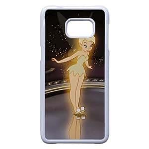 Samsung Galaxy S6 Edge Plus phone case White Disney Peter Pan Character Tinker Bell TPP9685863