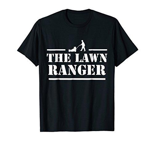 Lawn Ranger Lawn Mower Mowing Father's Day Gardening (Purple Ranger Costume)