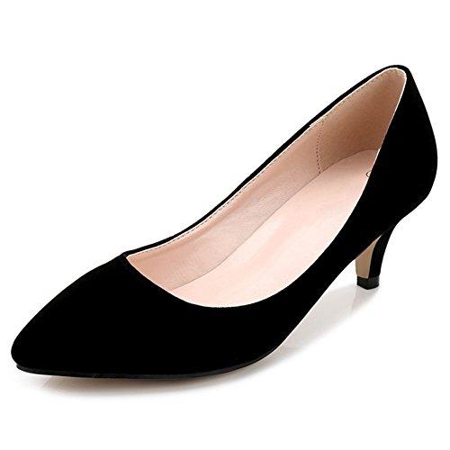 Noir fereshte Compensées femme Noir Sandales gFP6cnH