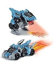 VTech Switch & Go Dinos Fire – Lazor, Super Velociraptor, dinosaurusspeelgoed, vanaf 4 jaar, Franse versie