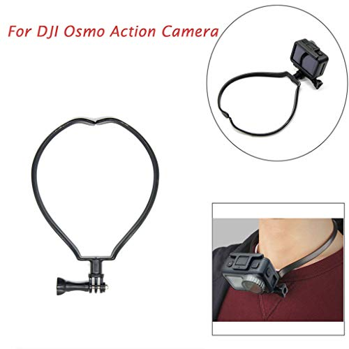 Sodoop Hanging Bracket for DJI Osmo Action Camera, Lanyard Hands-Free Cameras Holder Hanging-On Neck Stand of View Photographing Filming Self-Timer Video Recording Selfie