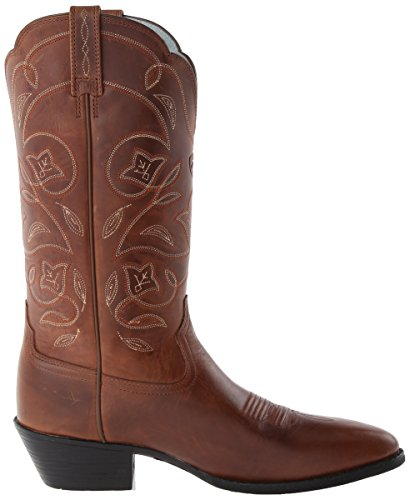 Western Fashion Ariat Boot R rebel Toe russet Heritage Women's PxqZqnXfA