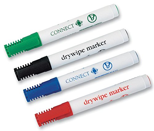 Q Connect Marker Whiteboard 4PK Asst by Cable Guy Direct
