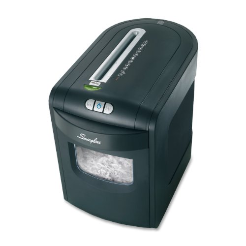 Swingline Jam Free Paper Shredder, 7 Sheets, Micro-Cut, 1-2 Users, EM07-06 (1757395) by Swingline