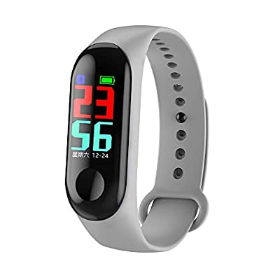 Bchance Fitness Tracker for Men, Steel Band Smart Wristwatch Smartwatch Phone with Heart Rate Monitor Blood Oxygen Monitor