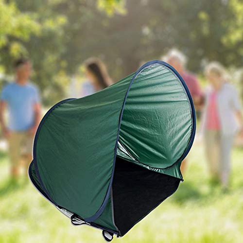 VINE SHOP Outdoor Tent Sunshade Beach Camping Fishing Tent Portable Folding Windproof Single Waterproof Backpack Hunting Tent