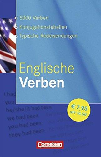 Verben-Wörterbuch: Englische Verben: Konjugationswörterbuch